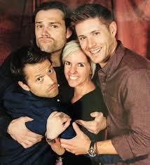 #ManCandyMonday #Supernatural @JarPad and @JensenAckles – with babies