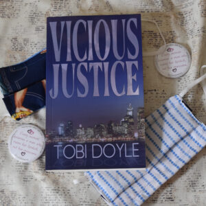 Signed copy of Vicious Justice in Giveaway!